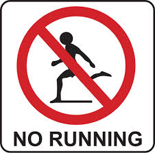 This sign has represented my running journey lately.