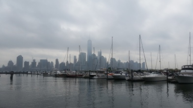 New York Skyline at the Beginning of the Race