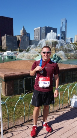 Finished my Best Race in Chicago in October of 2014!