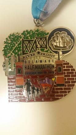DE Half Marathon Medal