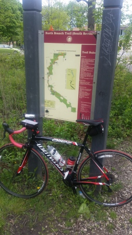 Bike and Trail Map